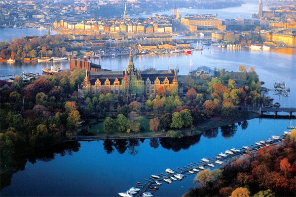 Стокгольм. Город между озером и морем