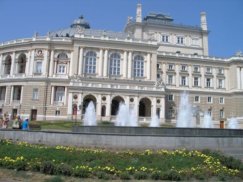 Одесский оперный театр — визитная карточка города